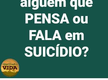 Diga Não ao SUICÍDIO